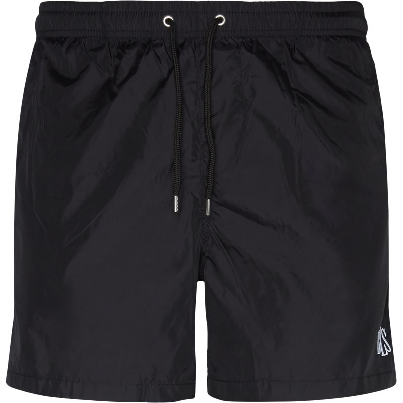 Image of   BLS Regular fit BLACK SWIM TRUNKS Shorts Sort