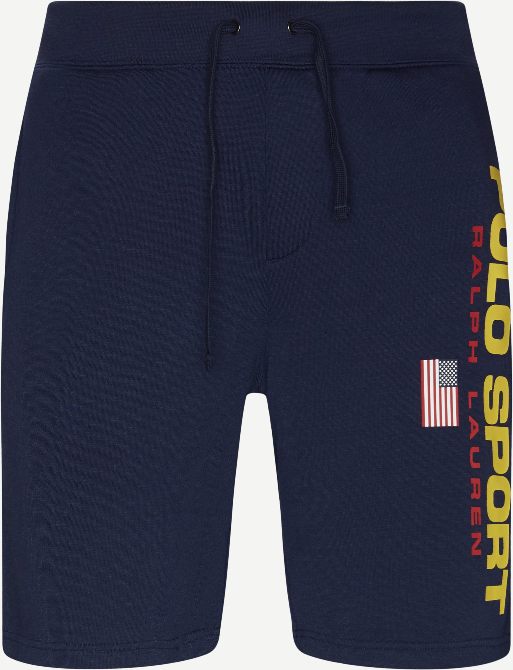 Logo Fleece Shorts - Shorts - Regular fit - Blå