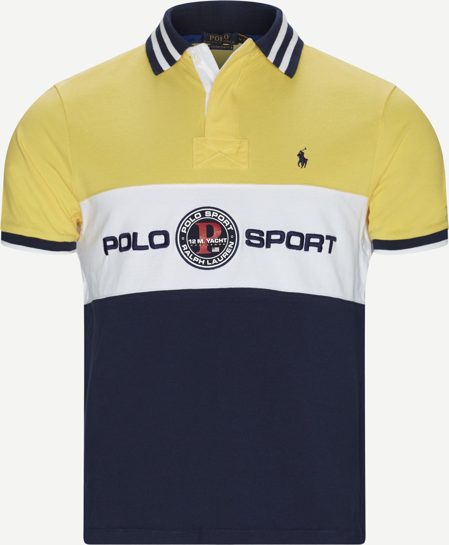 T-shirts - Regular slim fit - Yellow