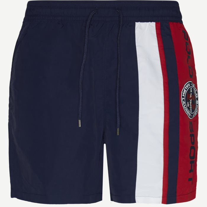Traveler Logo Swim Trunk - Shorts - Regular - Blå