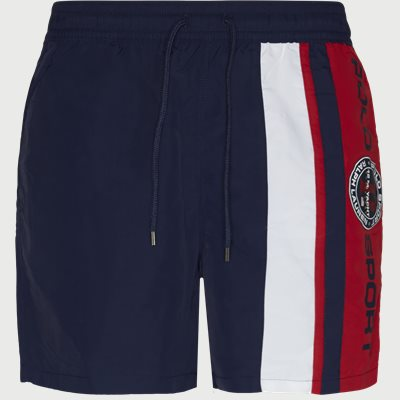 Traveler Logo Swim Trunk Regular | Traveler Logo Swim Trunk | Blå