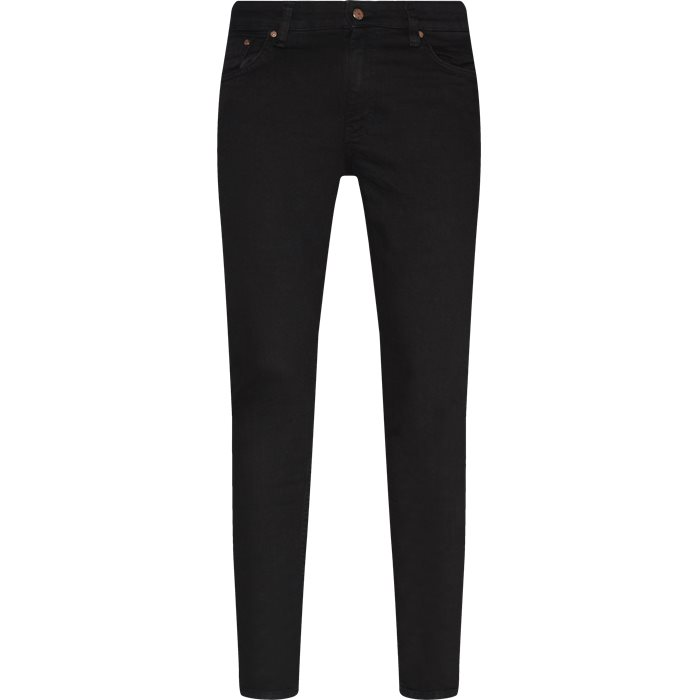 Sicko Black - Jeans - Slim - Sort