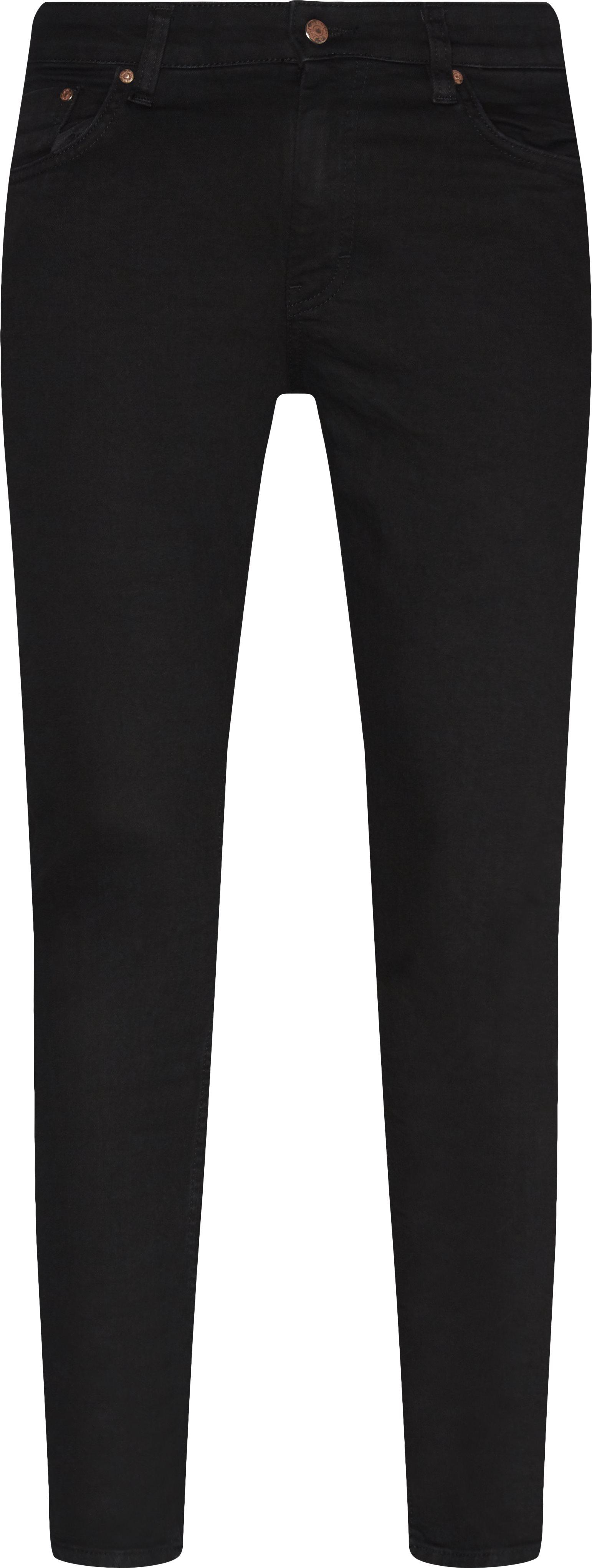 Sicko Black - Jeans - Slim - Sort