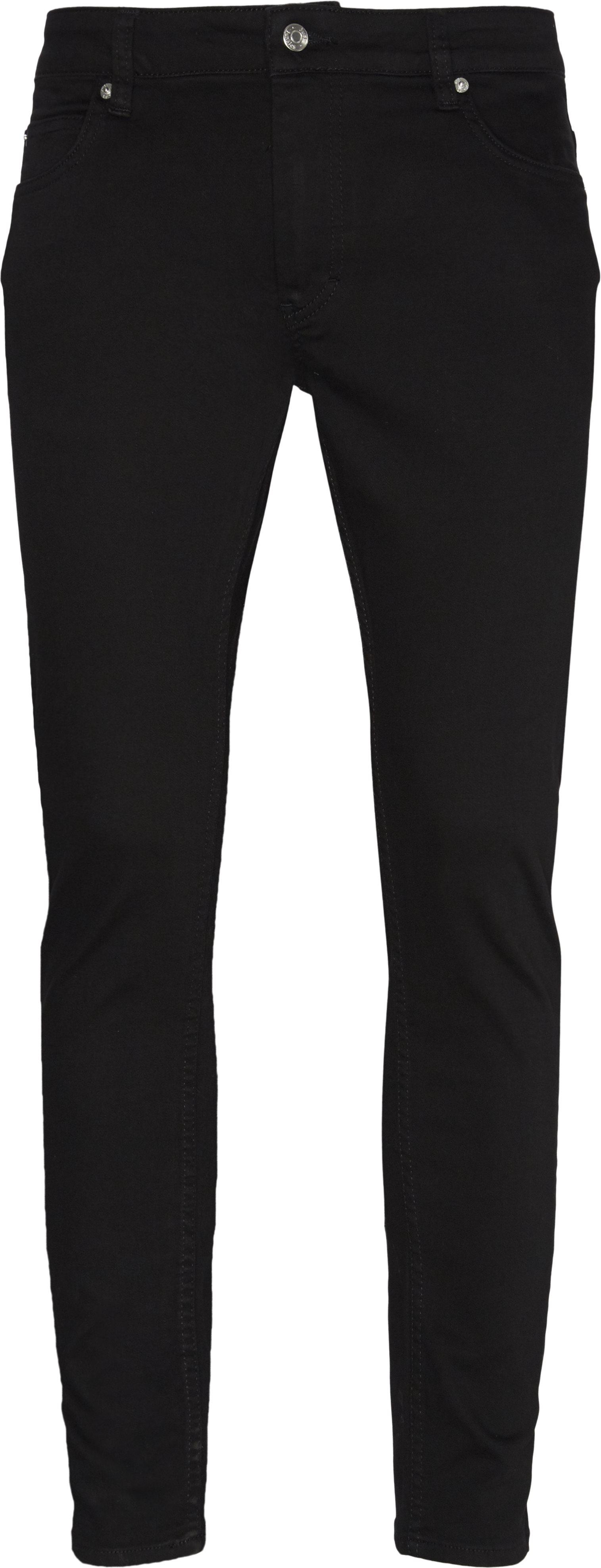 Max Black Jeans - Jeans - Slim - Sort