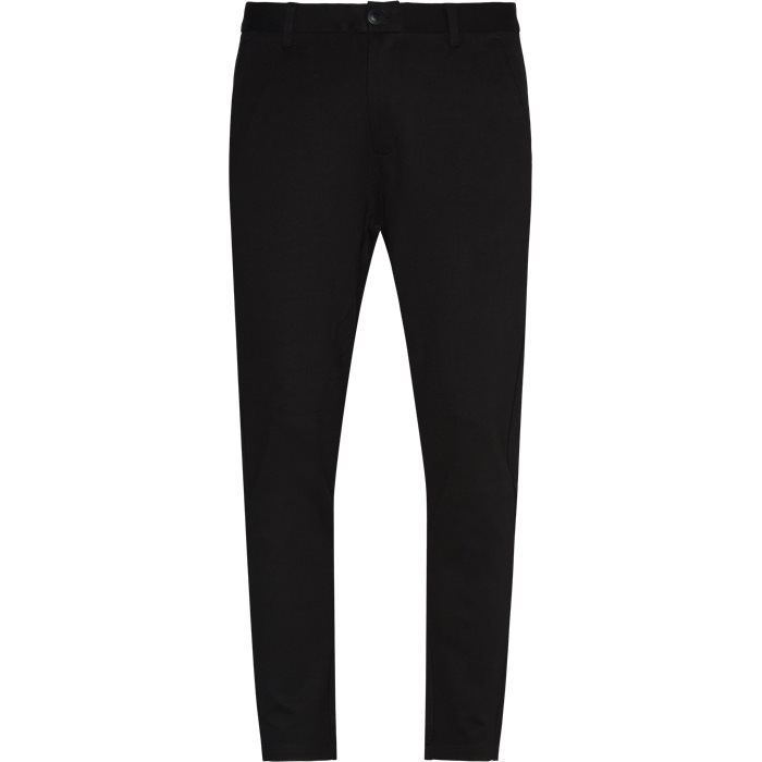 Verty Pants - Bukser - Tapered fit - Sort