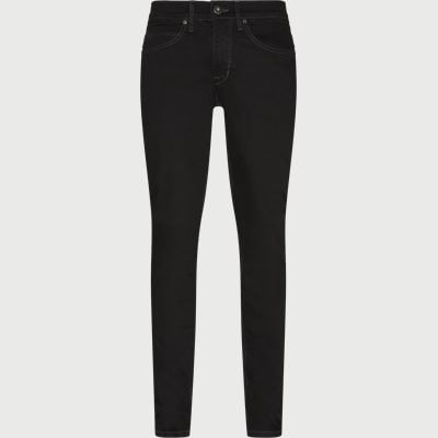 Tailored fit | Jeans | Svart