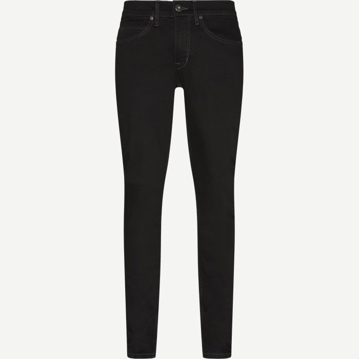 Jeans - Tailored fit - Svart
