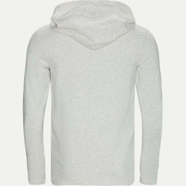 Cotton-Stretch Hoodie