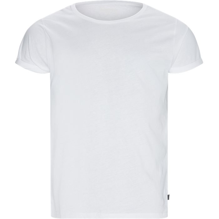 T-shirts - Loose - White