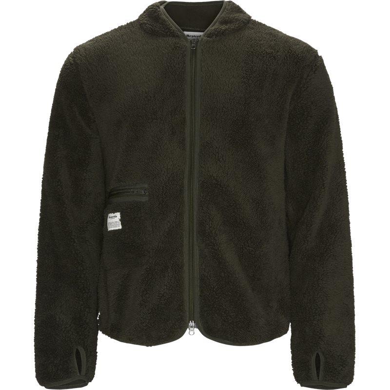 resteröds – Resteröds fleece jacket army fra quint.dk