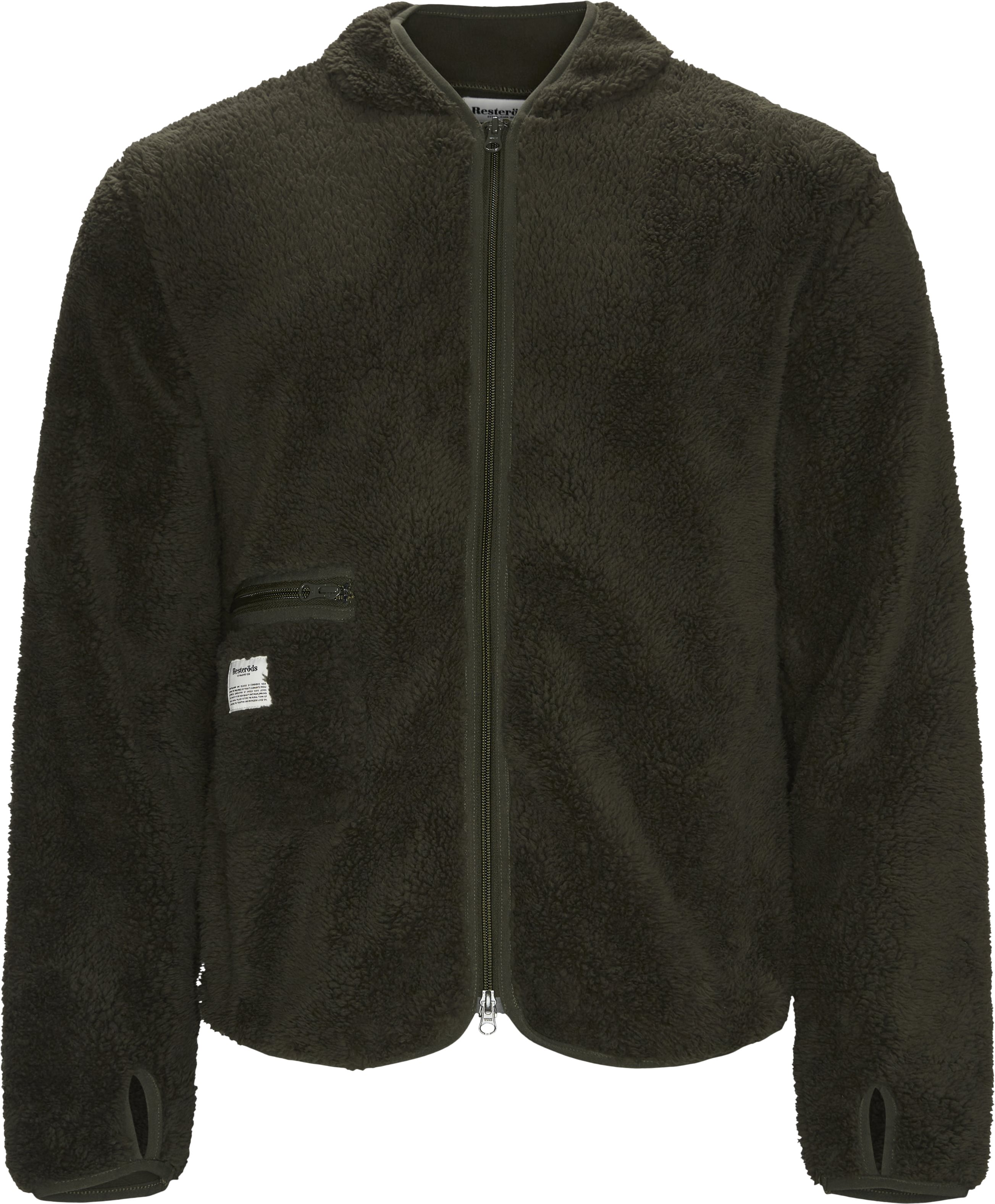 Fleece Jacket - Jackets - Regular - Army