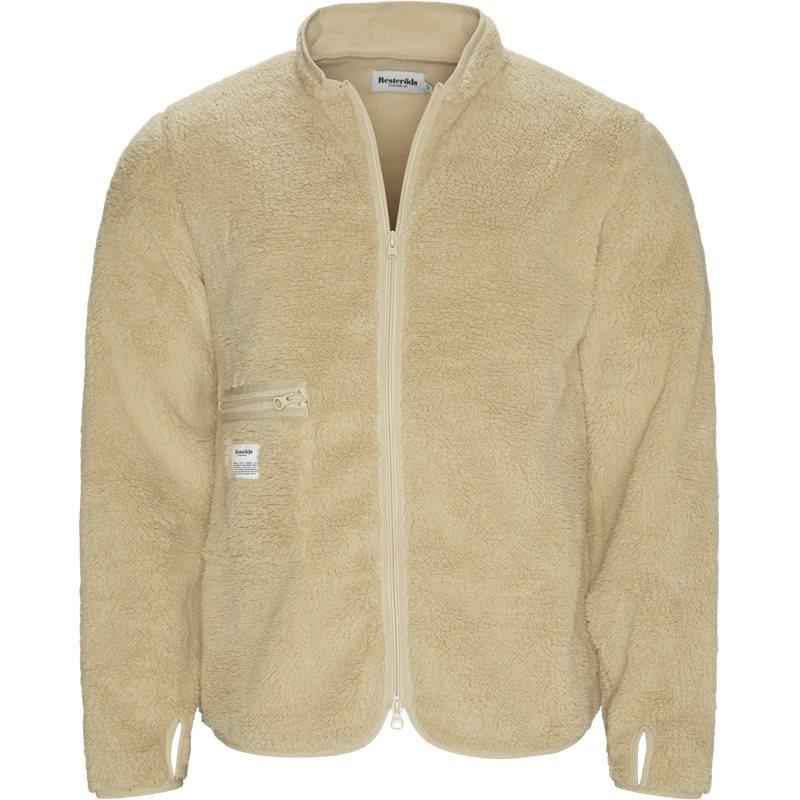Image of   Resteröds Fleece Jacket Sand
