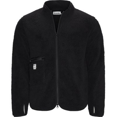 Fleece Jacket Regular | Fleece Jacket | Sort