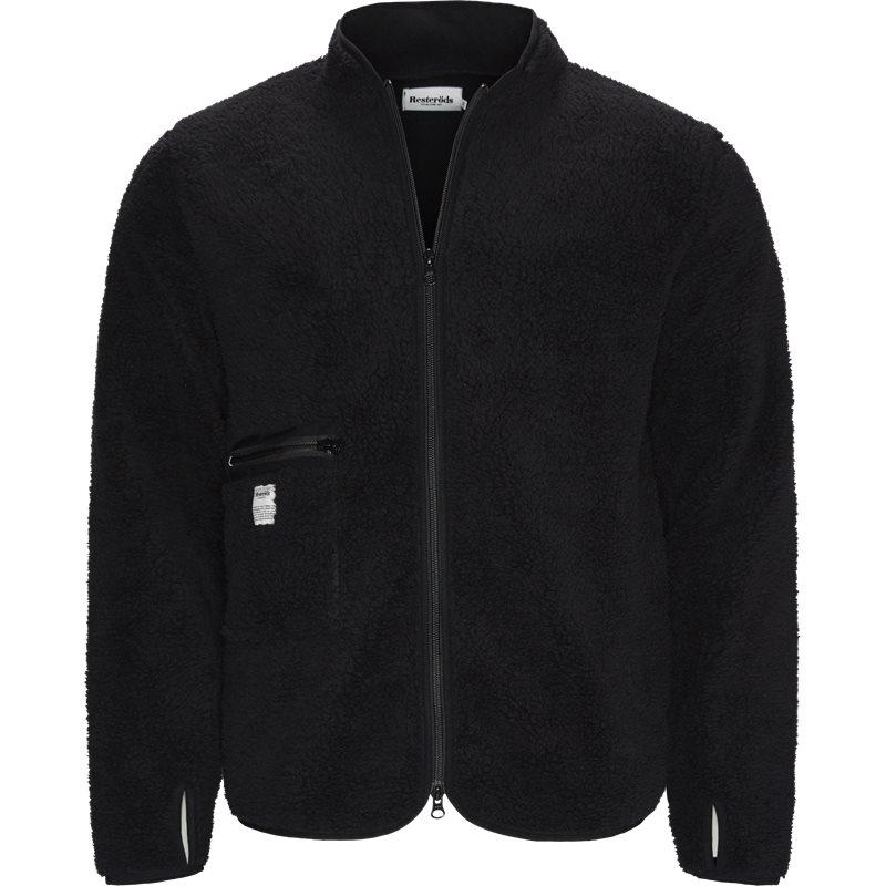 Image of   Resteröds Fleece Jacket Sort