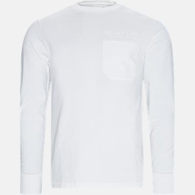 Oversized | Langærmede t-shirts | Hvid