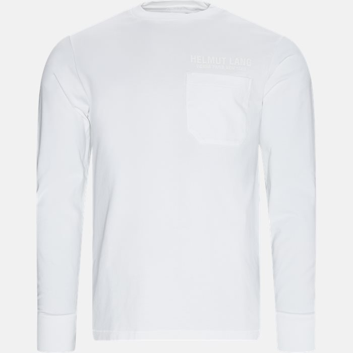 Long-sleeved t-shirts - Oversized - White