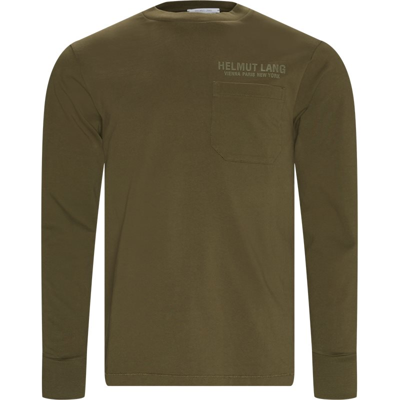 Image of   HELMUT LANG Oversized STANDARD TEE STOCH H K01DM514 T-shirts Olive