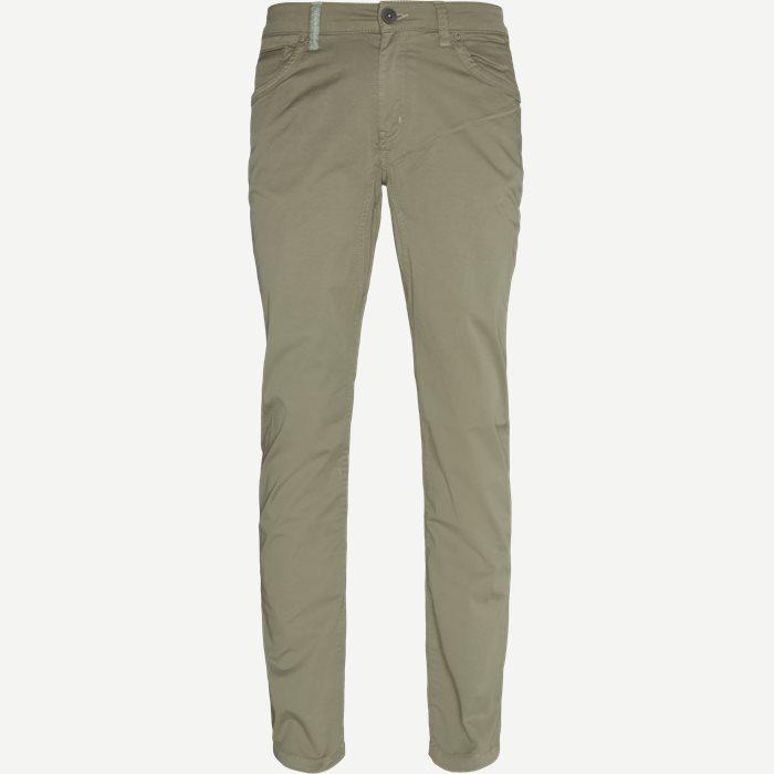 Cut ´N Sew Jeans - Jeans - Slim - Grøn