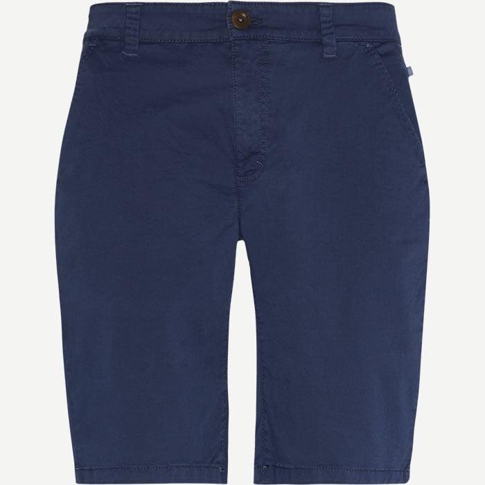 Classic Chino Shorts - Shorts - Regular - Blå