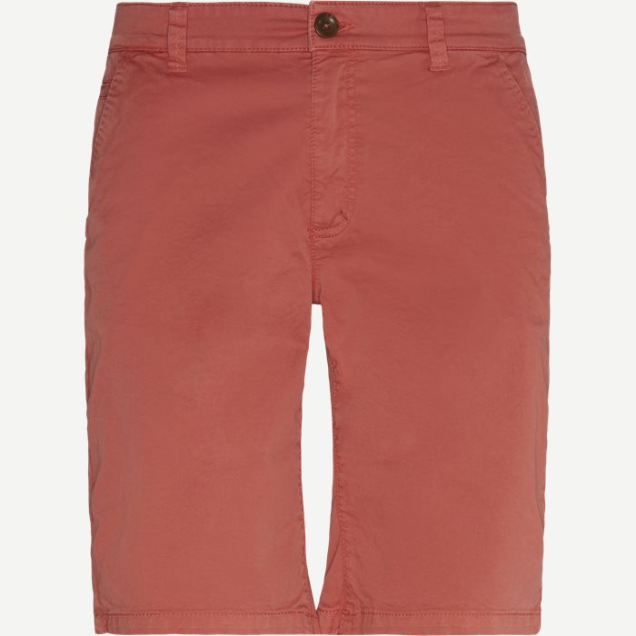 Shorts - Regular - Röd
