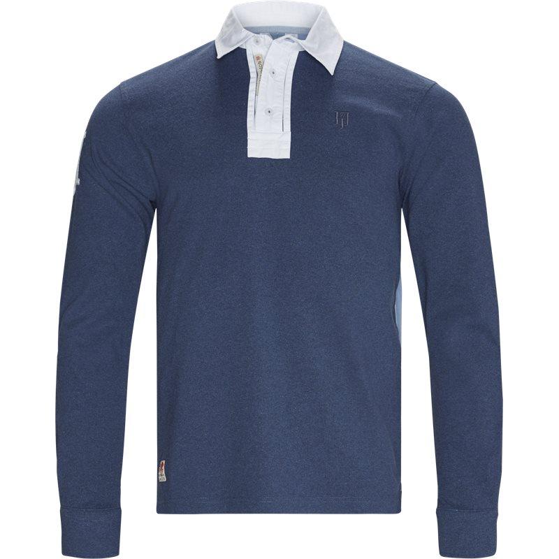 Image of   Hansen & Jacob - Striped Back Rugger LS T-shirt
