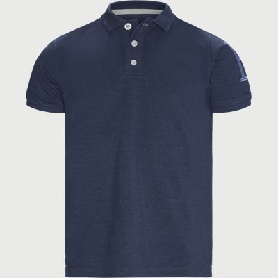Rough Style Polo T-shirt Modern fit | Rough Style Polo T-shirt | Blå