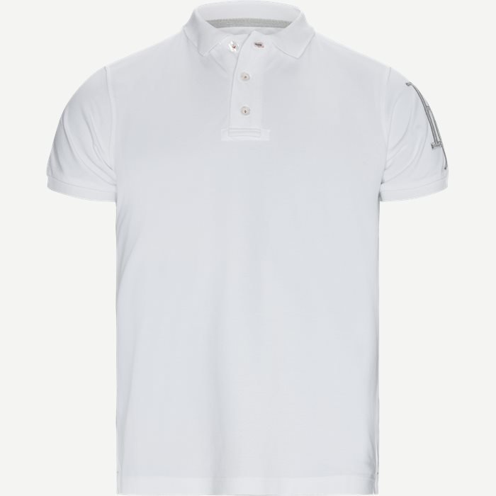 Rough Style Polo T-shirt - T-shirts - Modern fit - Hvid