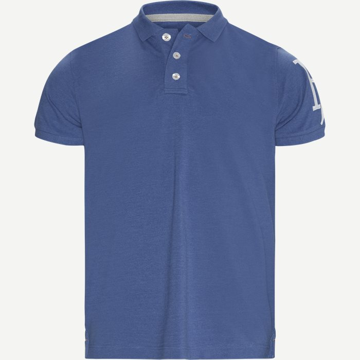 Rough Style Polo T-shirt - T-shirts - Modern fit - Blå