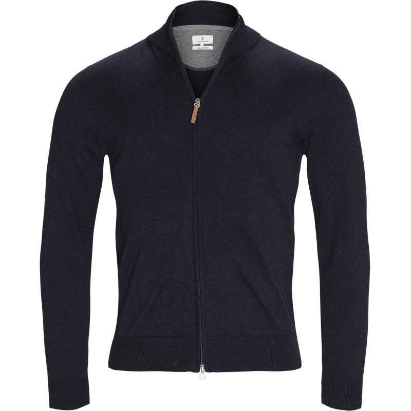 Image of   Hansen & Jacob - Full Zip Flat Knit Cardigan
