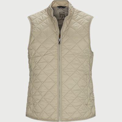 Inzip Quilt  Waist Coat Modern fit | Inzip Quilt  Waist Coat | Sand