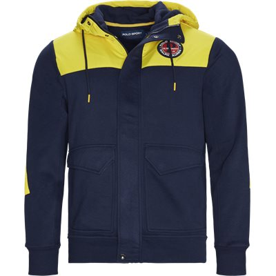Cotton Logo Jacket Regular | Cotton Logo Jacket | Blå