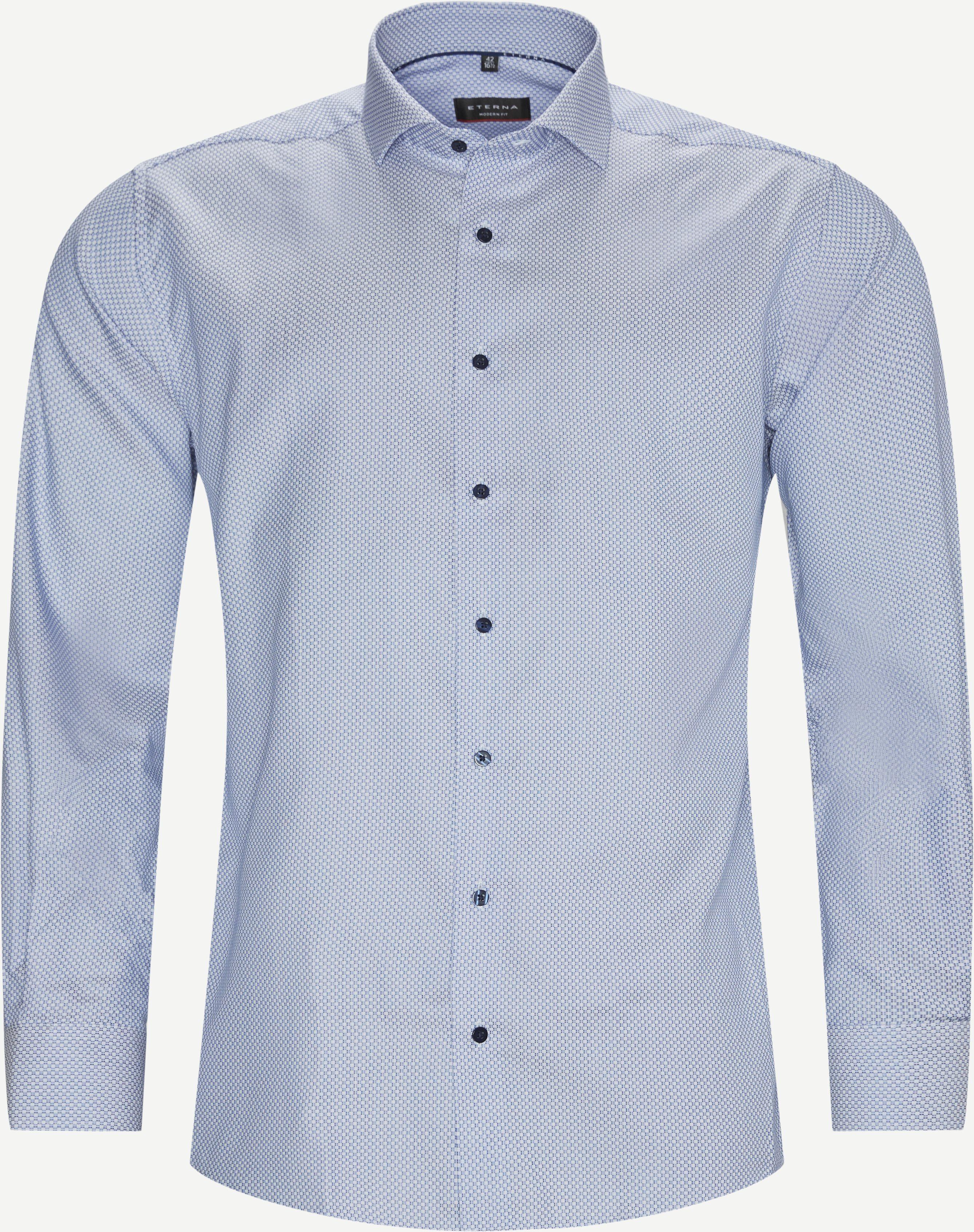 3218 Skjorte - Skjorter - Modern fit - Blå