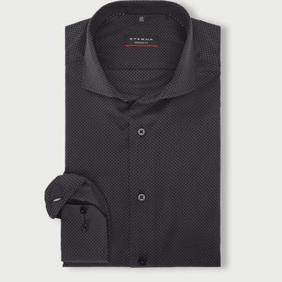 3218 Skjorte Modern fit | 3218 Skjorte | Sort
