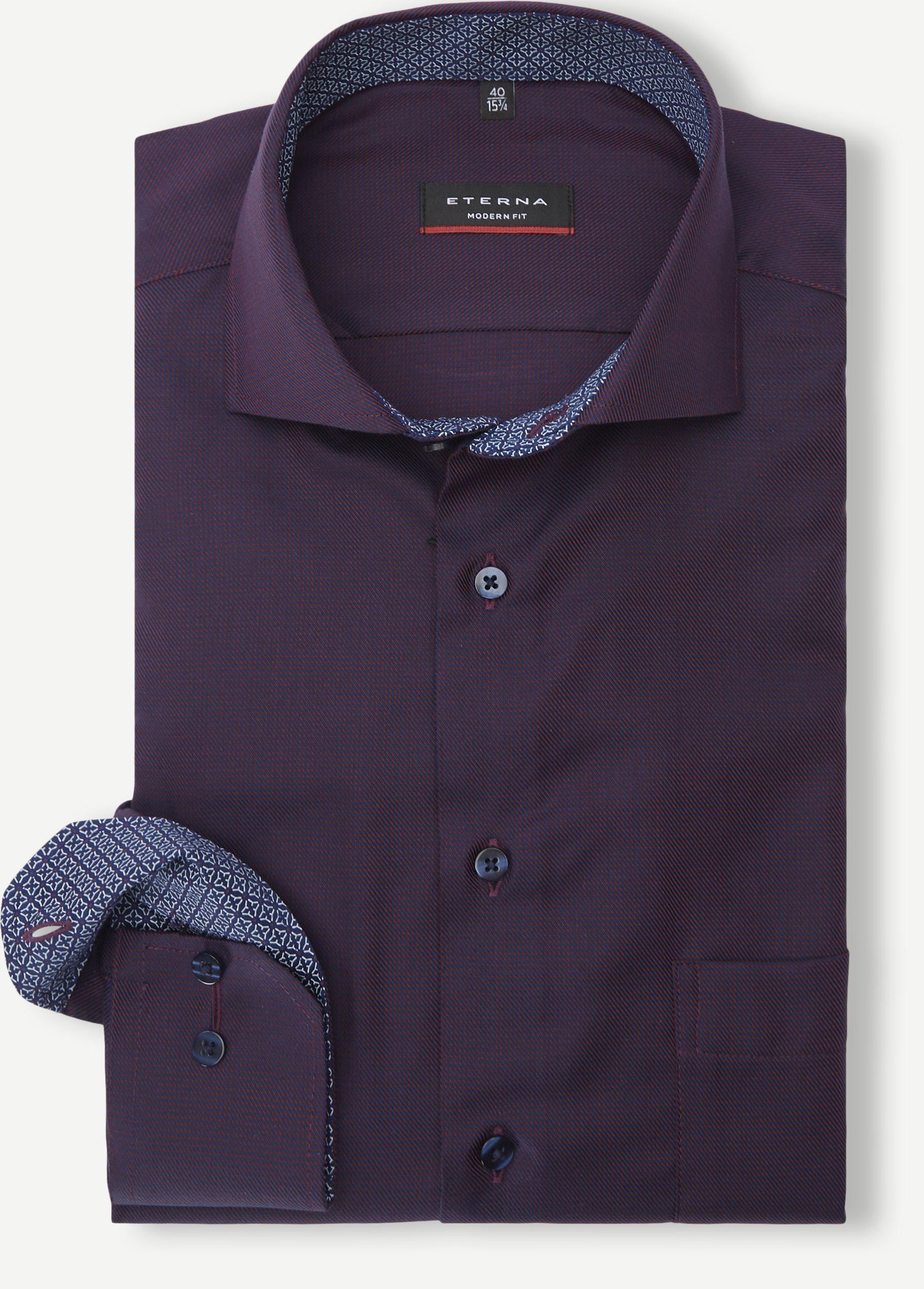 3116 Shirt - Skjorter - Modern fit - Bordeaux