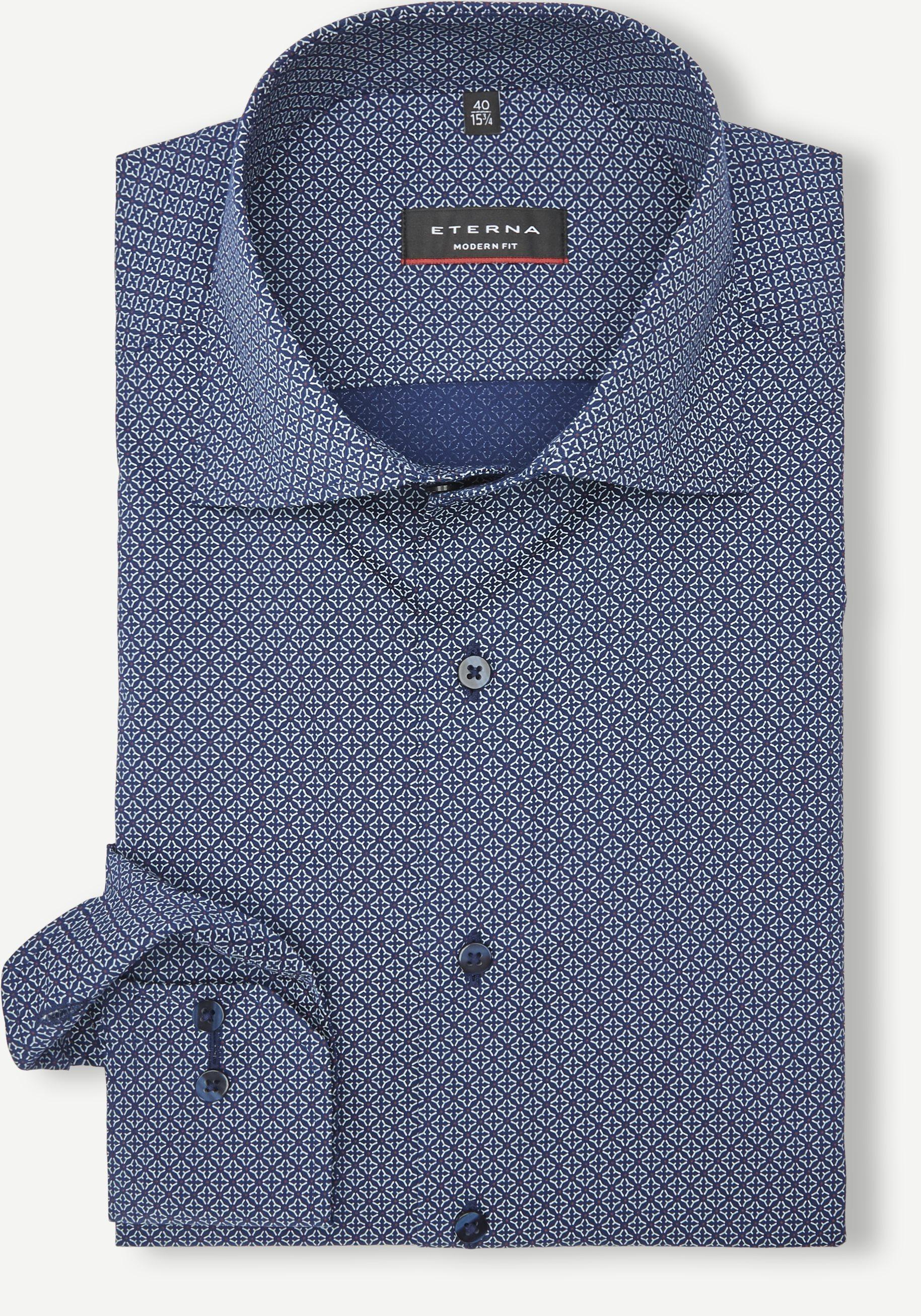 3948 Skjorte - Skjorter - Modern fit - Blå
