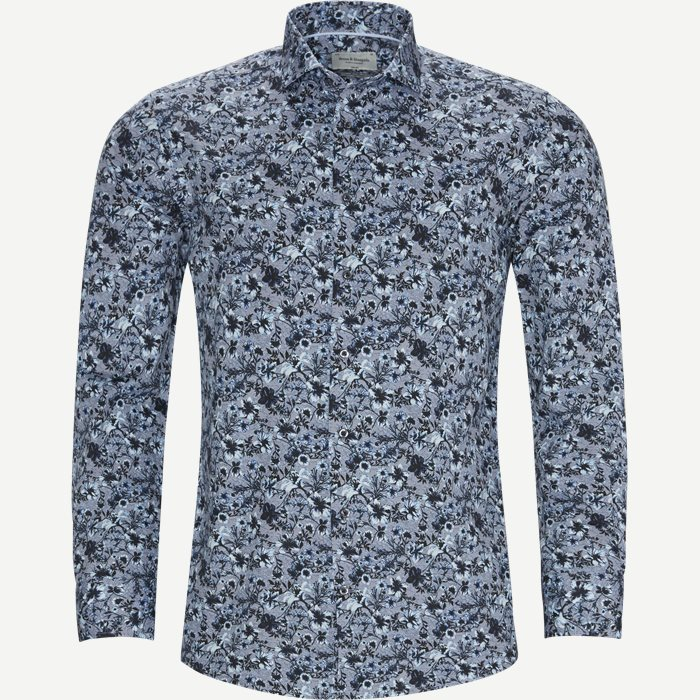 Alquist Skjorte - Skjorter - Slim - Blå