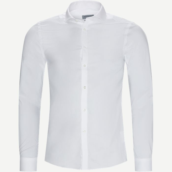 Luther Skjorte - Skjorter - Ekstra slim fit - Hvid