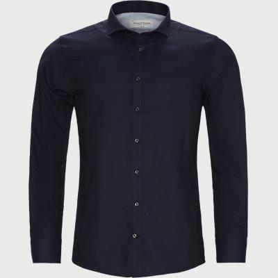 Slim   Shirts   Blue
