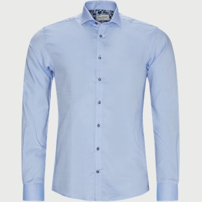 Mikey Skjorte Slim | Mikey Skjorte | Blå