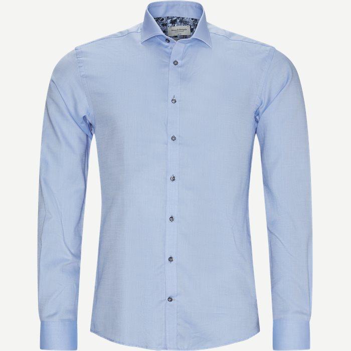 Mikey Skjorte - Skjorter - Slim - Blå