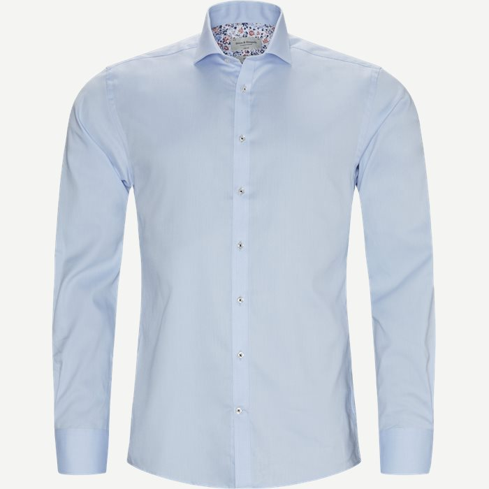 Mitte Skjorte - Skjorter - Slim - Blå