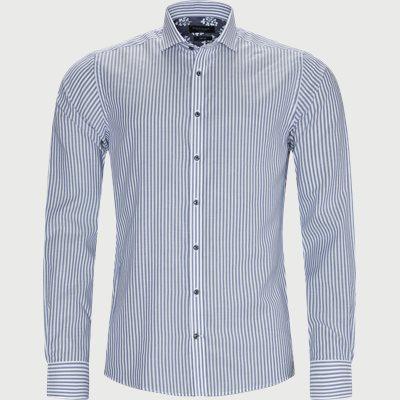 Foden Skjorte Modern fit | Foden Skjorte | Blå