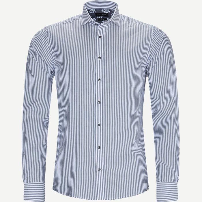 Foden Skjorte - Skjorter - Modern fit - Blå