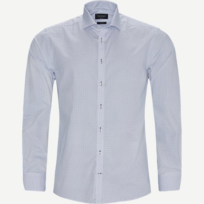 Mina Skjorte - Skjorter - Modern fit - Blå