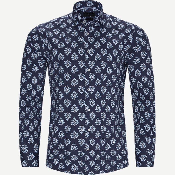 Sandler Skjorte - Skjorter - Modern fit - Blå