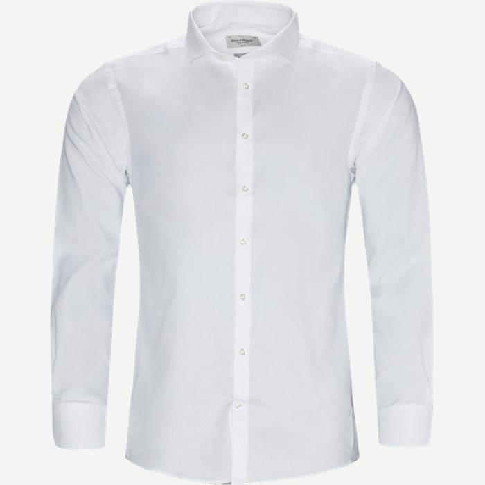 Cooper Skjorte - Skjorter - Slim - Hvid