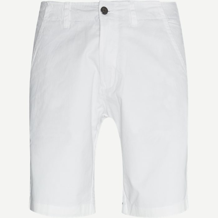 Shorts - Tailored fit - Weiß