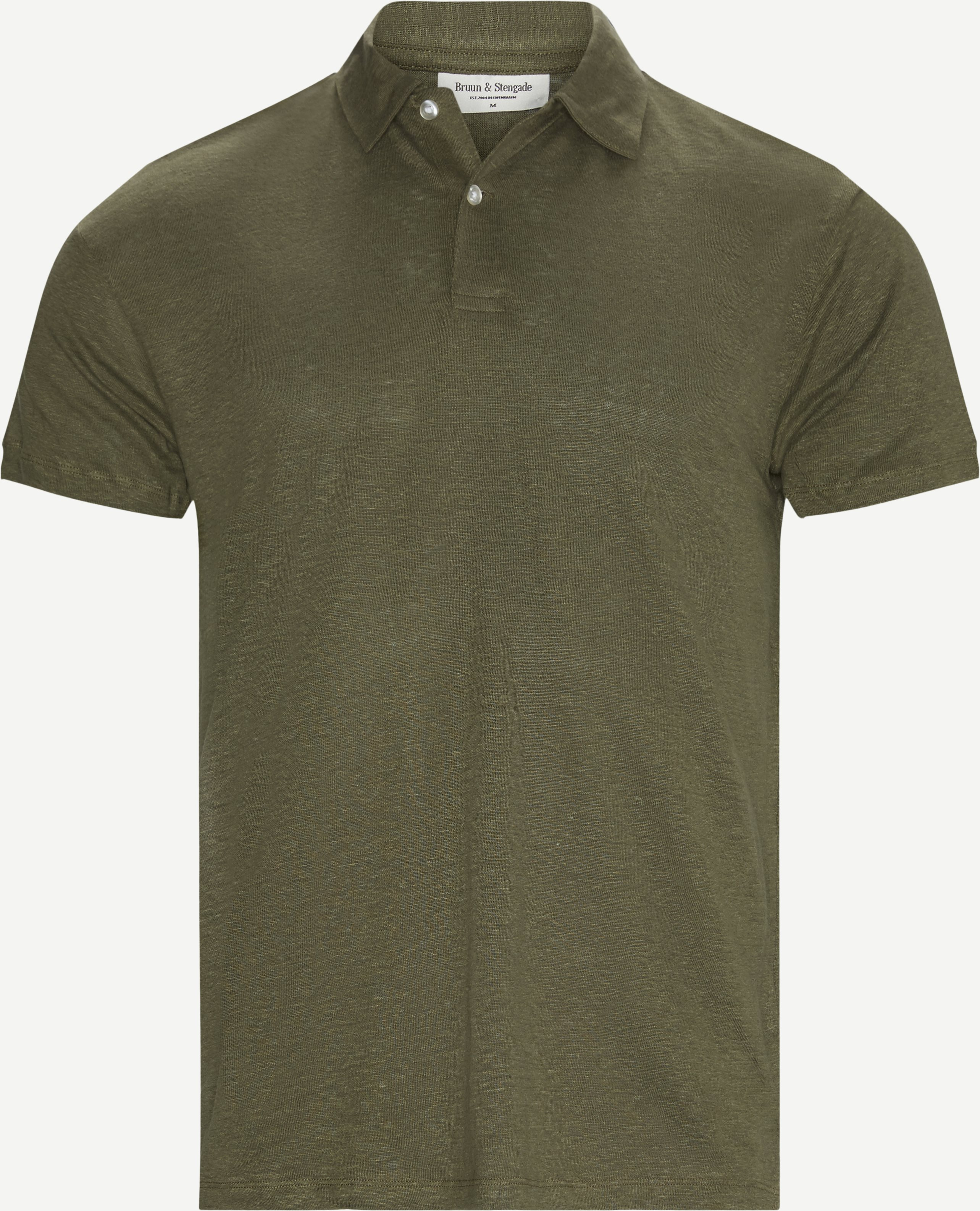 T-Shirts - Modern fit - Oliv