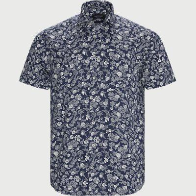 Blackwood Modern Kortærmet Skjorte Modern fit | Blackwood Modern Kortærmet Skjorte | Blå
