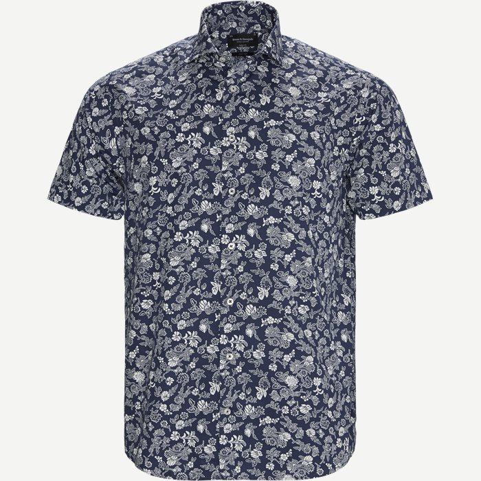 Blackwood Modern Kortærmet Skjorte - Kortærmede skjorter - Modern fit - Blå